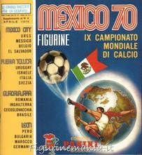 Mexico 70 - reprint anastatico 1° Ed. Italia, dimensione inferiore alle altre edizioni (album + set cartonate)
