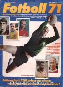 Fotboll 71 - Svezia (primo album Panini stampato per il Football straniero)