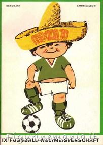 IX Fussball Weltmeisterschaft Mexico 70 (album + set)